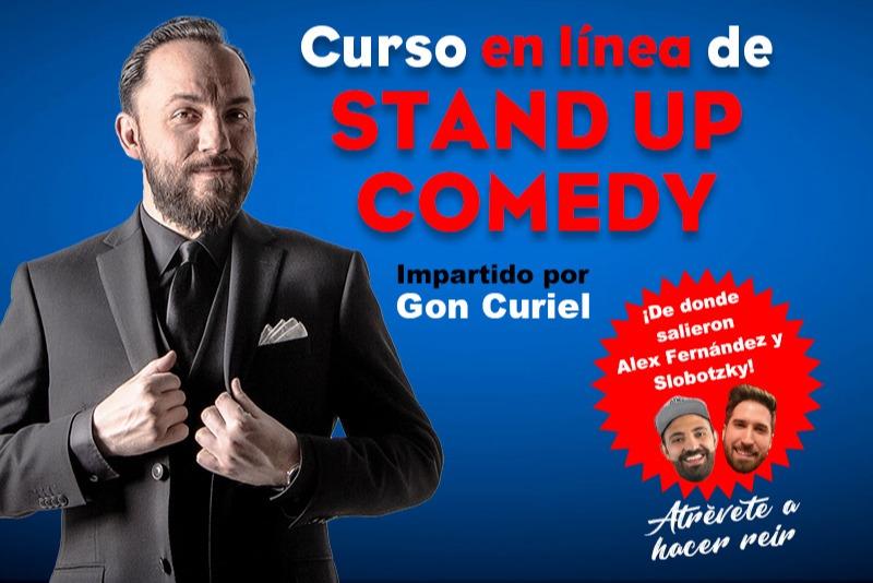 Curso en línea de Stand Up Comedy impartido por Gon Curiel