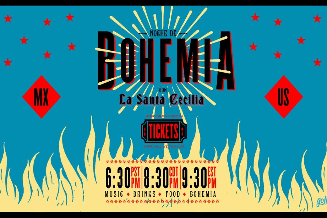 Noche de Bohemia con La Santa Cecilia
