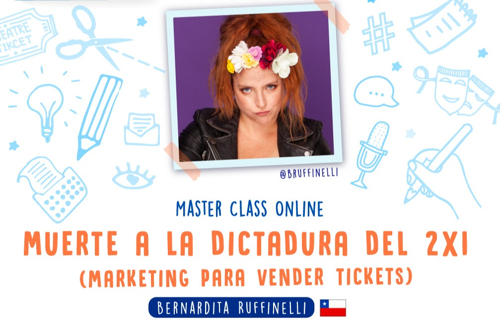 "Masterclass ""Muerte a la dictadura del 2x1"" Marketing para vender Tickets USD"