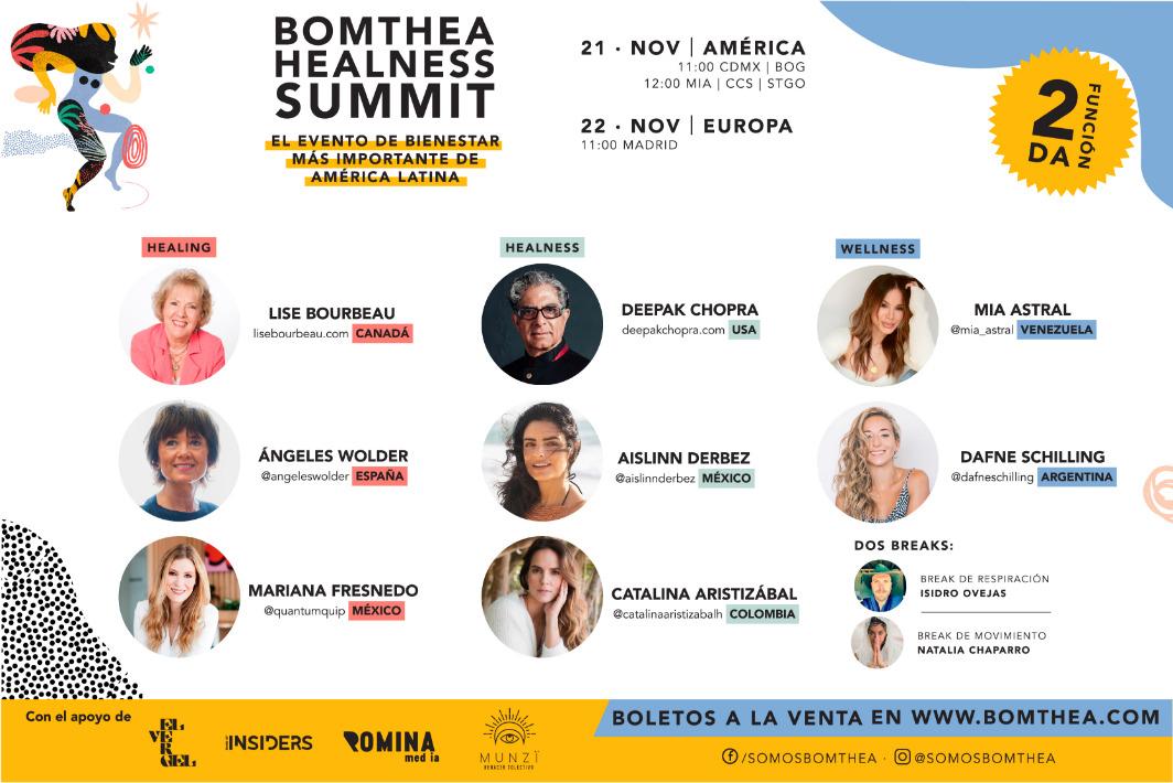 Bomthea Healness Summit 2da Edición