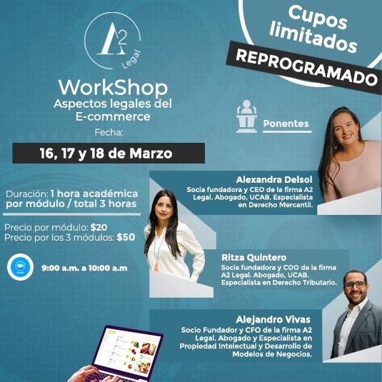 Workshop: Aspectos legales del e-Commerce