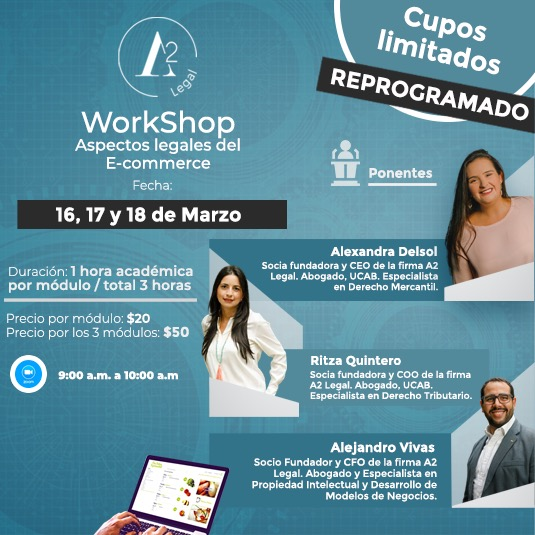 Workshop: Aspectos Legales del e-Commerce en Bolívares
