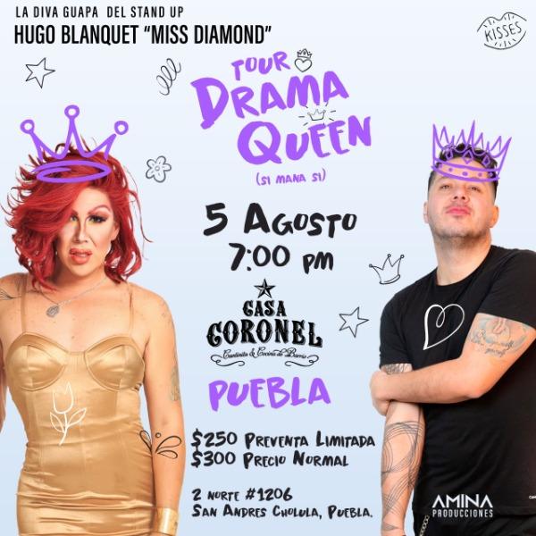 Tour Drama Queen (Si Mana Si) PUE