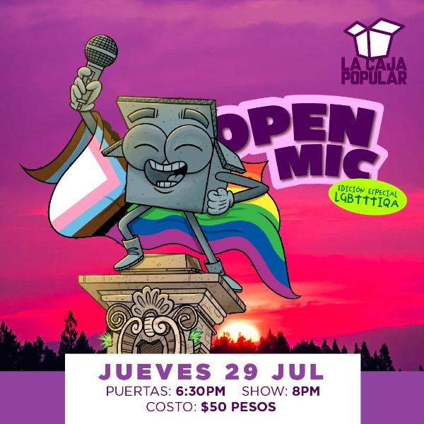 Open LGBTTTIQA