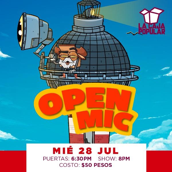OpenMic con Gus Proal