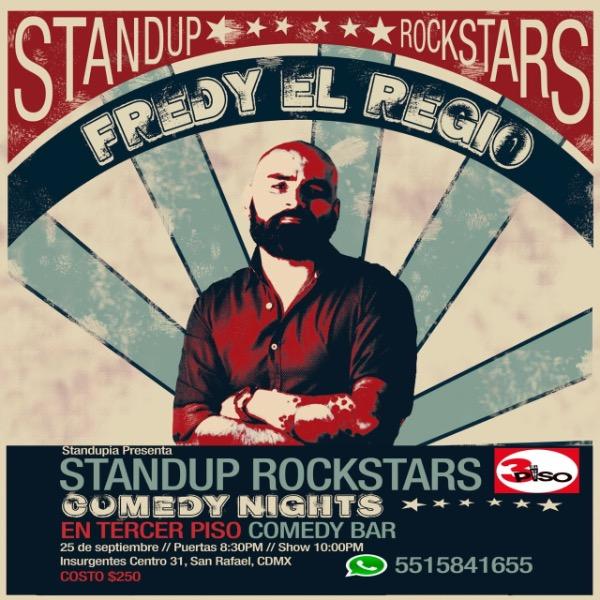 Stand Up Rockstars Comedy Night