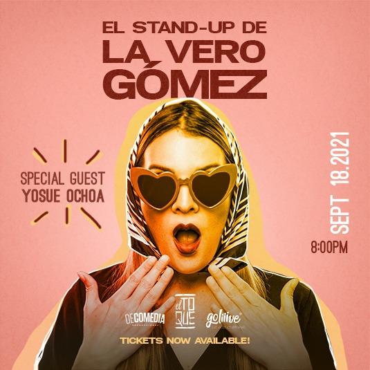 Stand Up La Vero Gómez El Toque