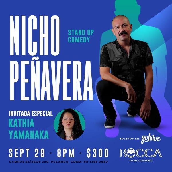 Nicho Peñavera Stand Up Comedy