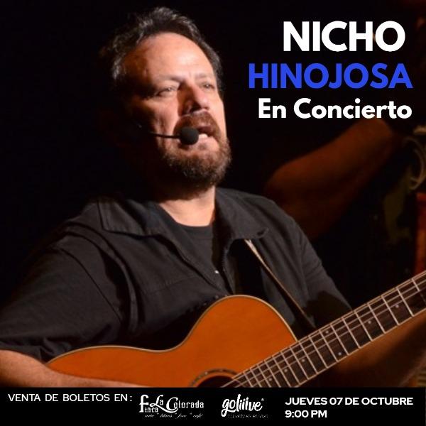 Nicho Hinojosa en Concierto