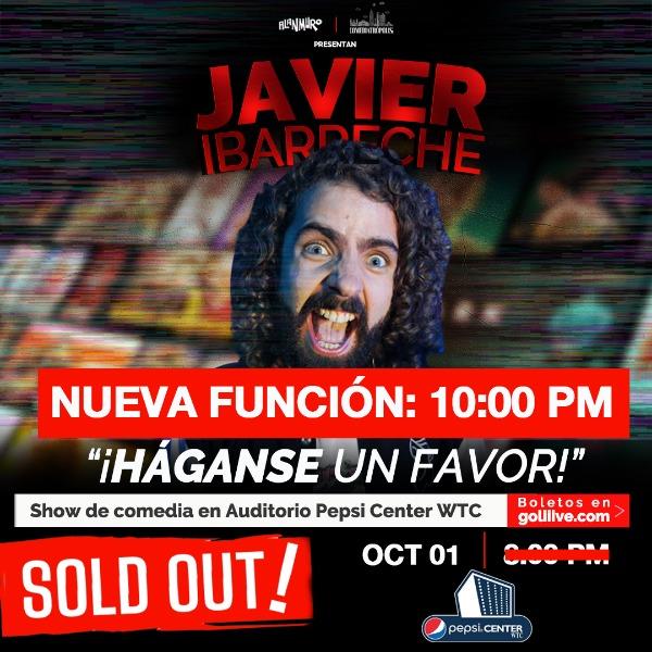 "Javier Ibarreche presenta ""Háganse un favor"""