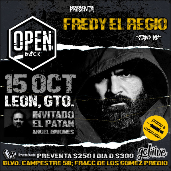 FREDY EL REGIO Stand Up Comedy