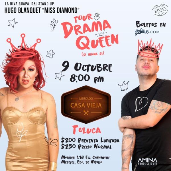 Tour Drama Queen (Si Mana Si) METEPEC