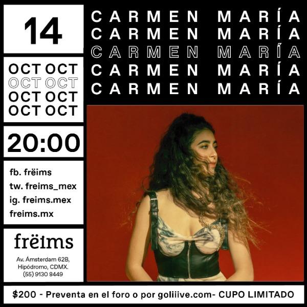 Carmen María en Frëims