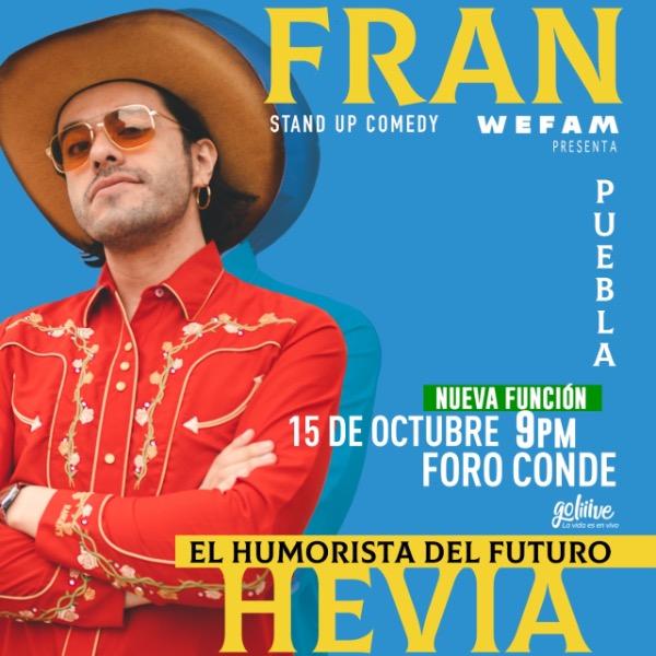 Fran Hevia en Foro Conde