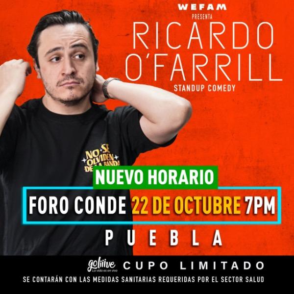 Ricardo O´Farrill en Foro Conde