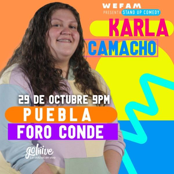 Karla Camacho en Foro Conde