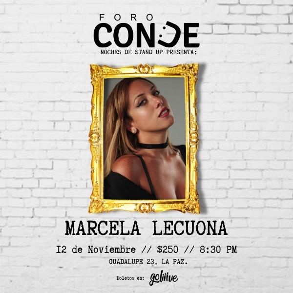 Marcela Lecuona en Foro Conde
