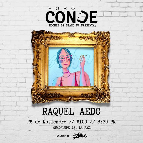 Raquel Aedo en Foro Conde