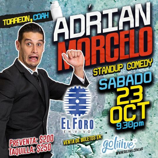 Adrián Marcelo en Torreón