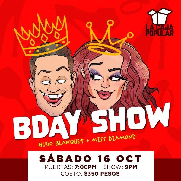 Hugo Blanquet ( Birthday show )
