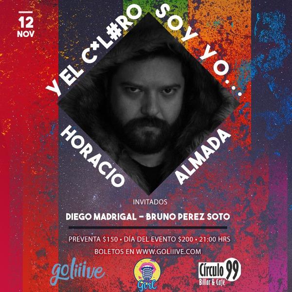 Horacio Almada ... y el C#L#ro soy yo