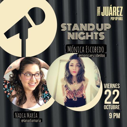 Show Stand Up Mónica Escobedo y Nadia Maria