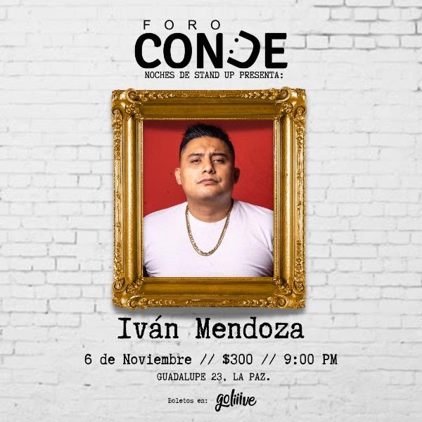 Iván Mendoza en Foro Conde