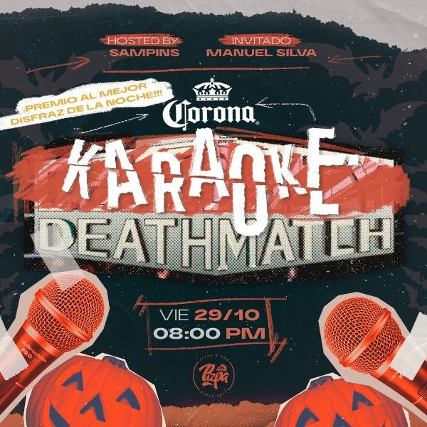 Karaoke Deathmatch ESPECIAL HALLOWEEN