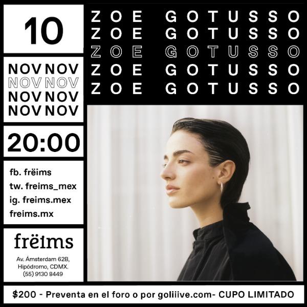 Zoé Gotusso en Frëims