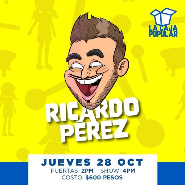 Ricardo Pérez 4pm