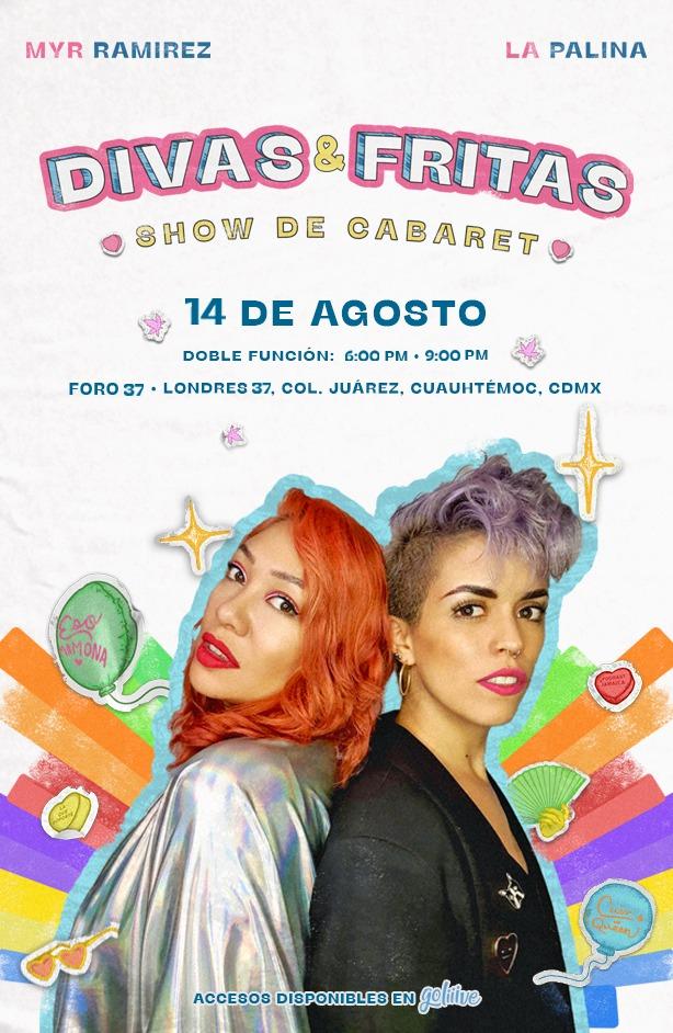 DIVAS Y FRITAS: SHOW DE CABARET