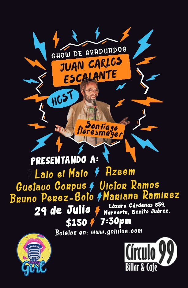 Show De Graduados De Juan Carlos Escalante