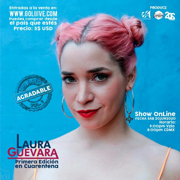 Laura Guevara, primera edición en cuarentena