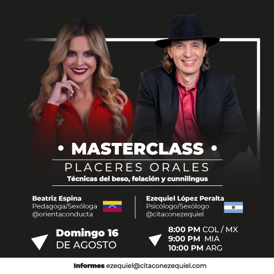 MASTERCLASS: Placeres orales