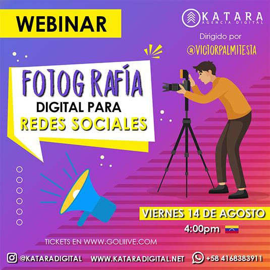 Fotografía digital para redes sociales