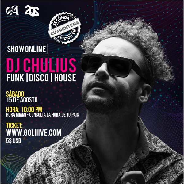 Dj Chulius Funk-Disco-House-