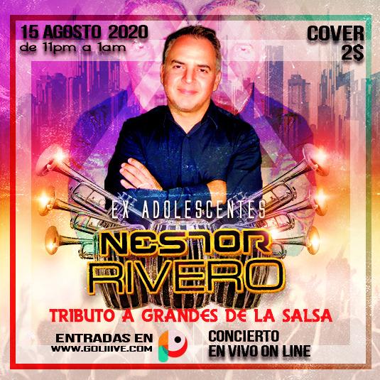 Néstor Rivero, Tributo a Grandes de la Salsa