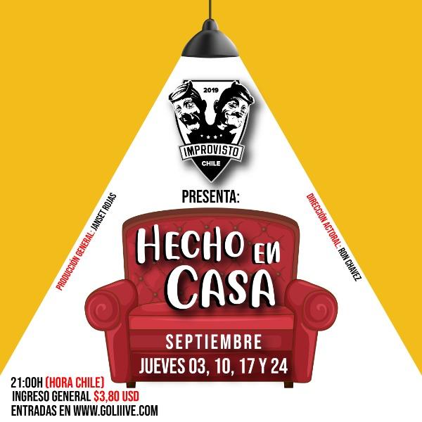 Improvisto Chile presenta Hecho en Casa