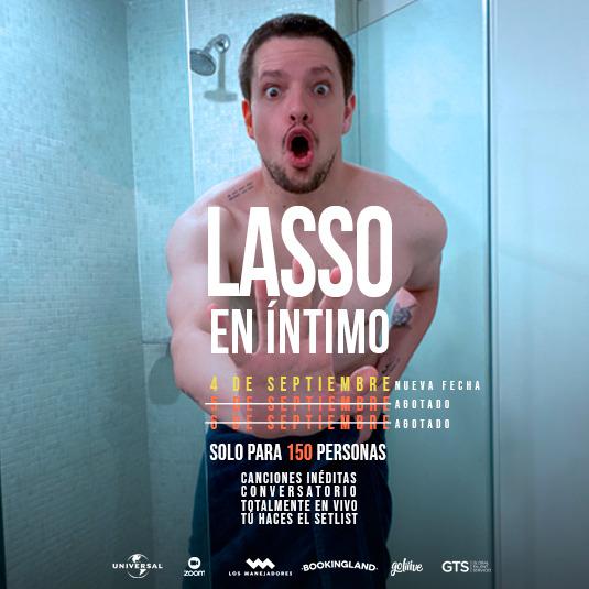 Lasso en Íntimo HORARIO MADRID