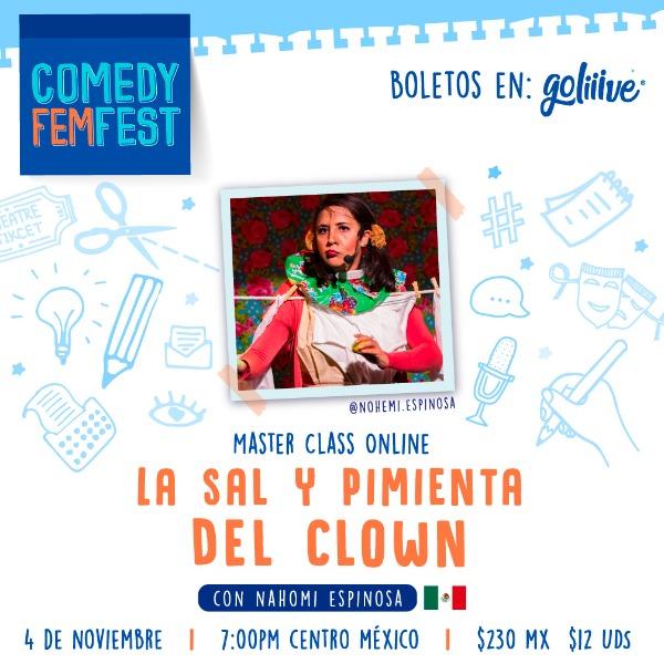 """Masterclass """"La Sal y la Pimienta del Clown"""" USD"""