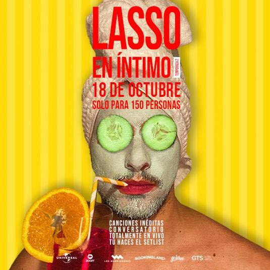 Lasso en Íntimo 2da Temporada 18 OCT