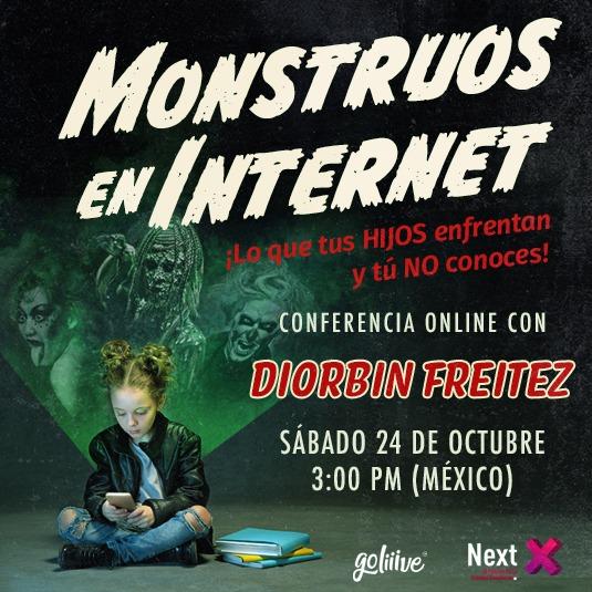 Monstruos en Internet ¡Lo que tus HIJOS enfrentan y tú NO conoces! USD
