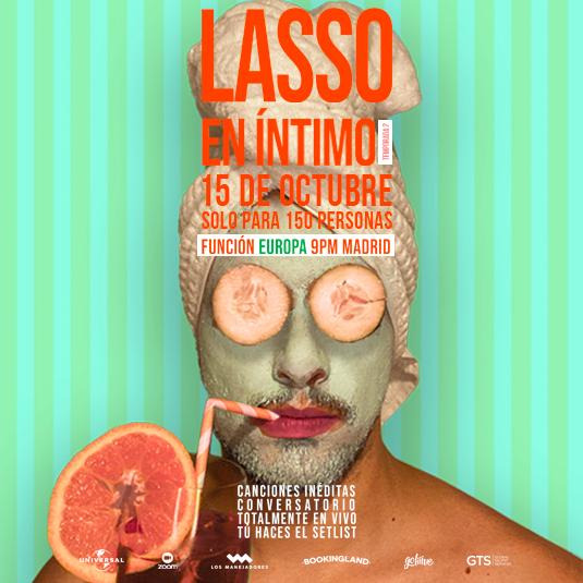 Lasso en Íntimo MADRID 2da Temporada 15 OCT