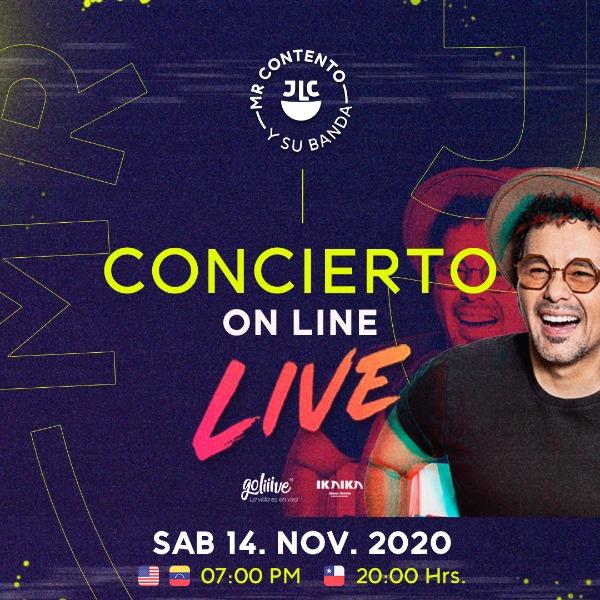 Concierto On Line Live de Jorge Luis Chacín no