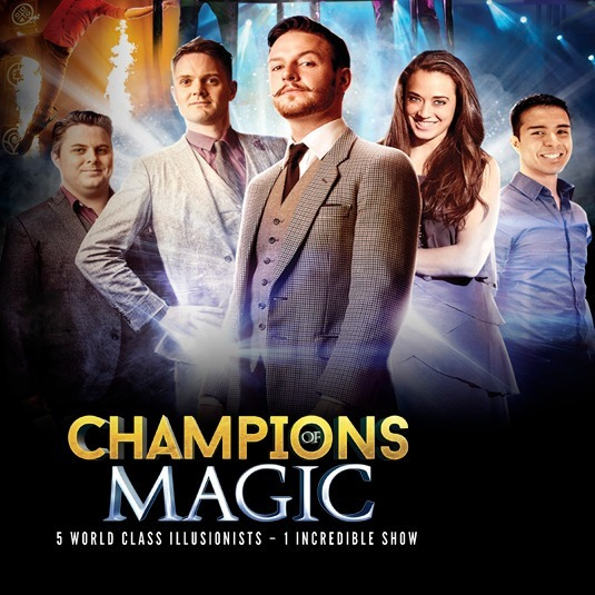 Champions of Magic 2020 Dom 25 Oct