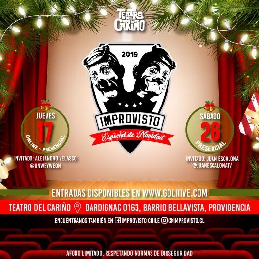Improvisto Chile-Hecho en Casa, especial navideño
